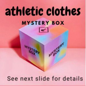 Athletic clothes MYSTERY box (bundle)
